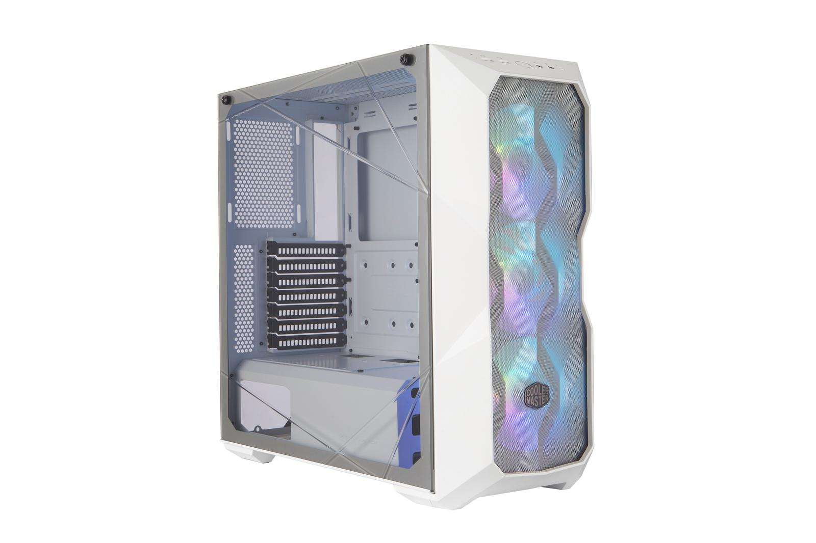 Cooler Master MasterBox TD500 Mesh White w/ Controller ATX Mid Tower Case