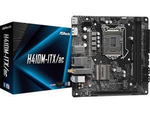 ASRock H410M-ITX/ac Mini ITX LGA1200 Motherboard