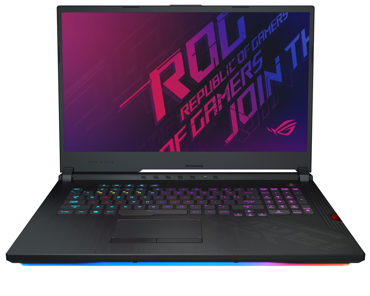 "Asus ROG Strix Hero III (2019) 17.3"" 1920 x 1080 144 Hz Core i7-9750H 2.6 GHz 16 GB Memory 512 GB NVME SSD Storage Laptop"