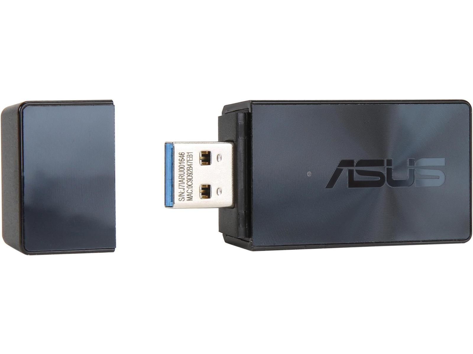 Asus USB-AC55 B1 USB 3.0 802.11a/b/g/n/ac Wi-Fi Adapter