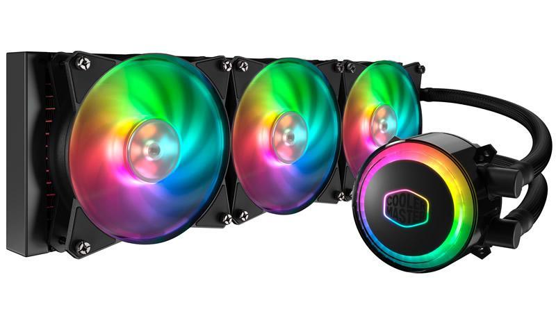 Cooler Master MasterLiquid ML360R RGB 66.7 CFM Liquid CPU Cooler