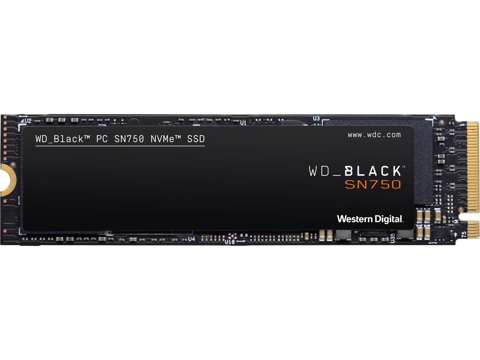 Western Digital SN750 500 GB M.2-2280 NVME Solid State Drive