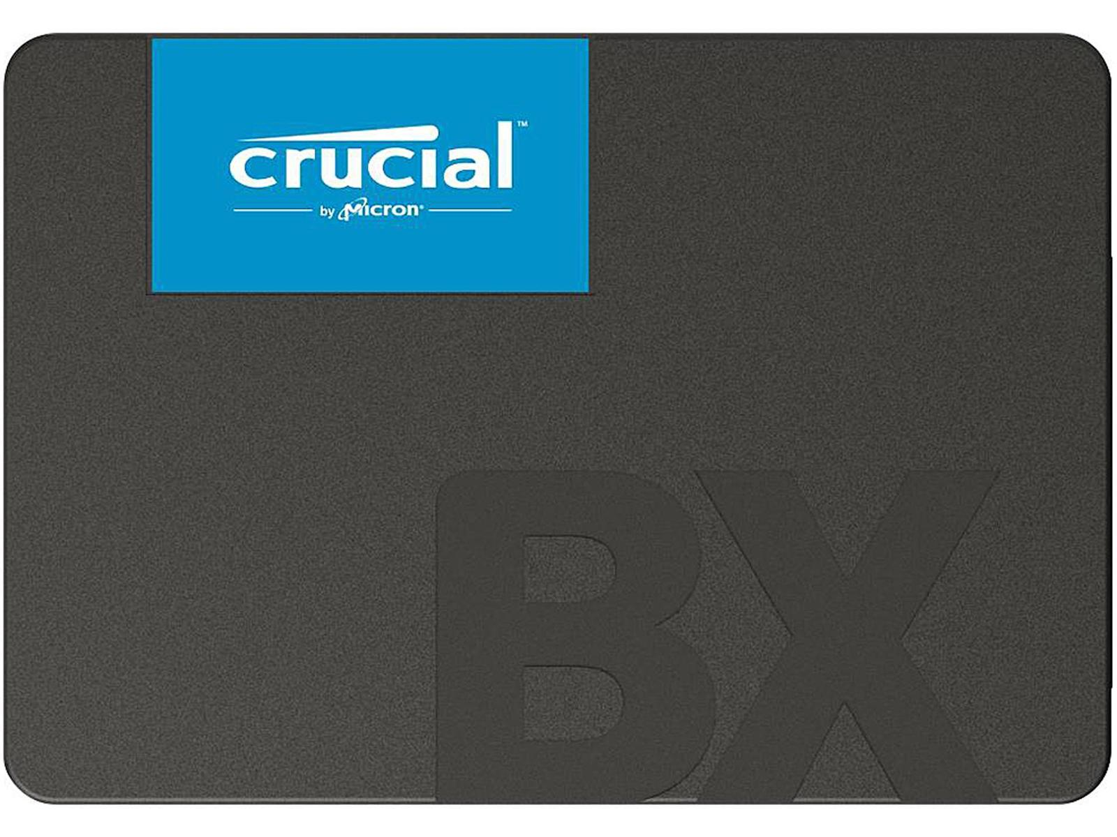 """Crucial BX500 480 GB 2.5"""" Solid State Drive"""