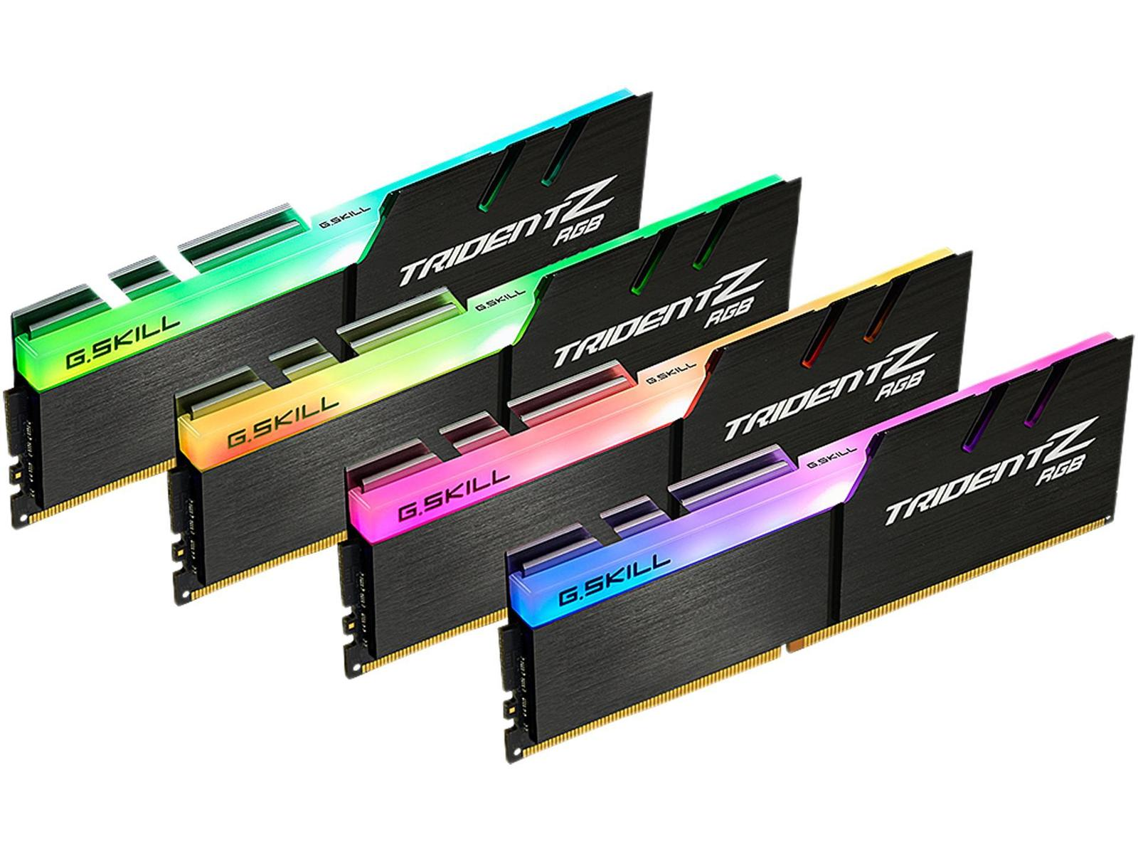 G.Skill Trident Z RGB 32 GB (4 x 8 GB) DDR4-3600 CL19 Memory