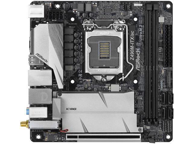 ASRock Z490M-ITX/ac Mini ITX LGA1200 Motherboard