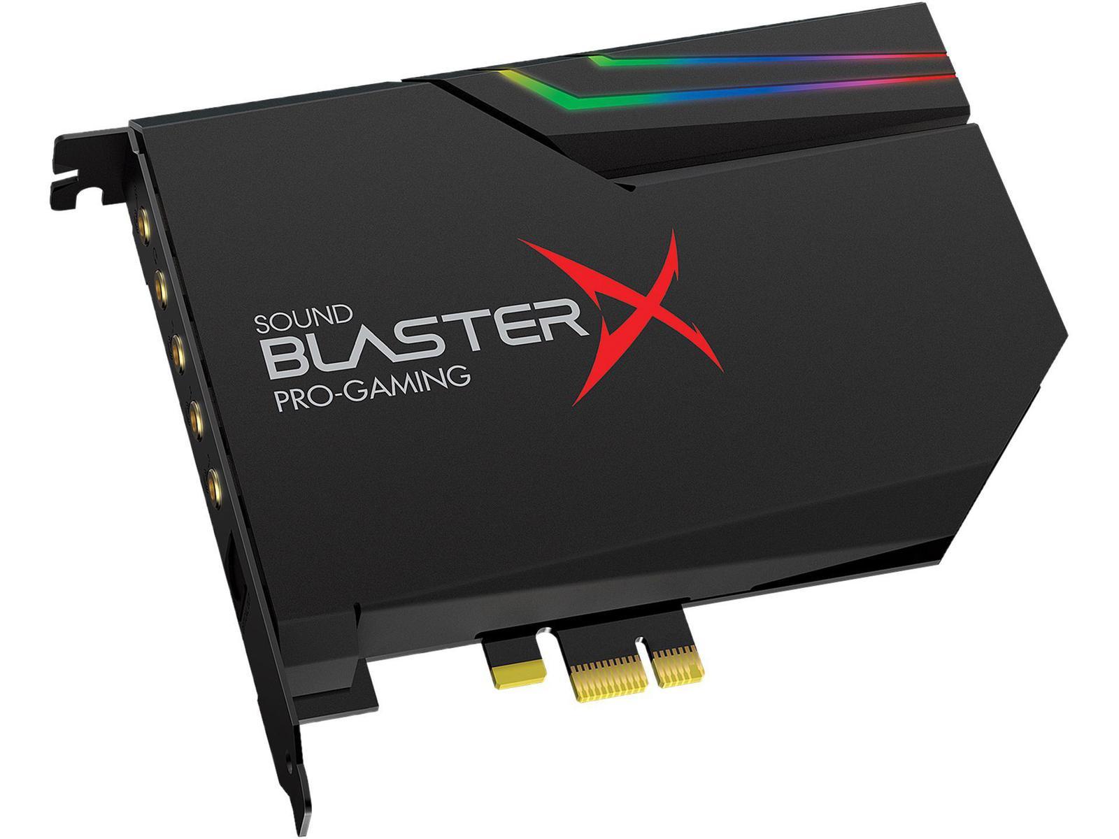 Creative Labs Sound BlasterX AE-5 Plus Sound Card