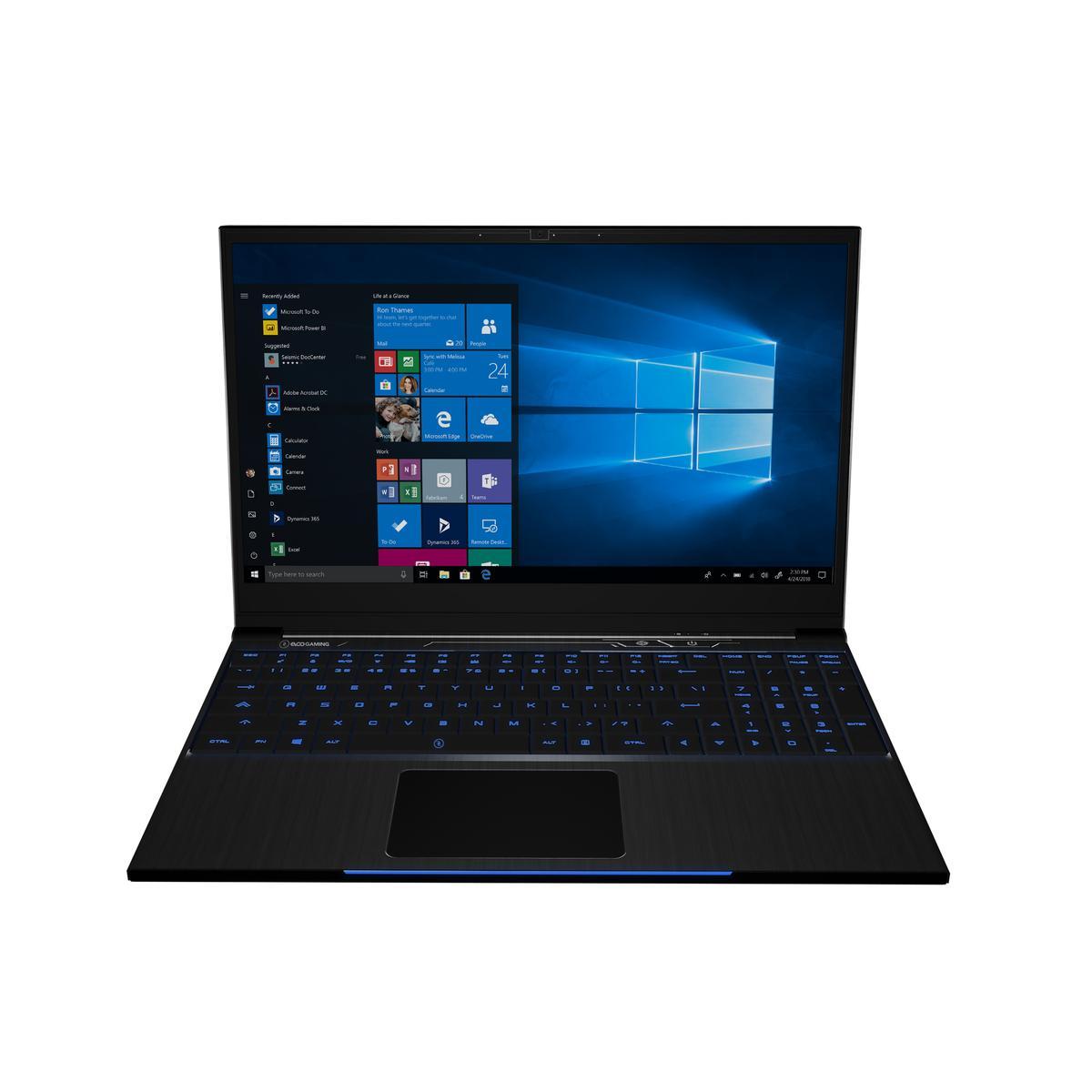 "EVOO GAMING EG-LP5-BK 15.6"" 1920 x 1080 144 Hz Core i7-9750H 2.6 GHz 16 GB Memory 512 GB Storage Laptop"