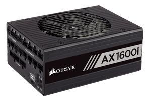 Corsair AXi 1600 W 80+ Titanium Certified Fully Modular ATX Power Supply