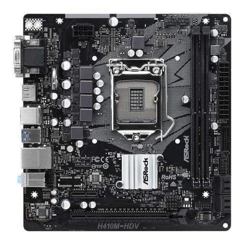 ASRock H410M-HDV Micro ATX LGA1200 Motherboard
