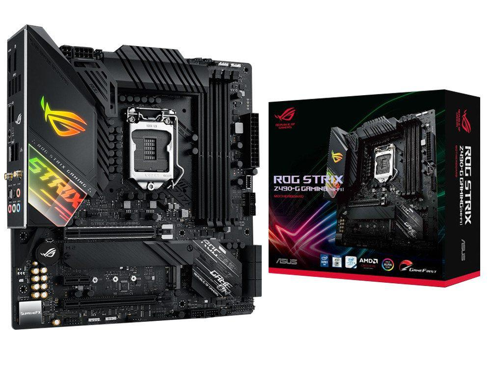 Asus ROG STRIX Z490-G GAMING (WI-FI) Micro ATX LGA1200 Motherboard