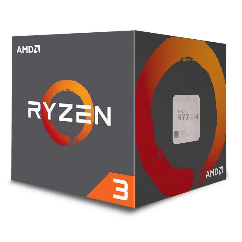 AMD Ryzen 3 1200 (12nm) 3.1 GHz Quad-Core Processor