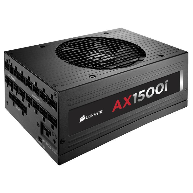 Corsair AXi 1500 W 80+ Titanium Certified Fully Modular ATX Power Supply