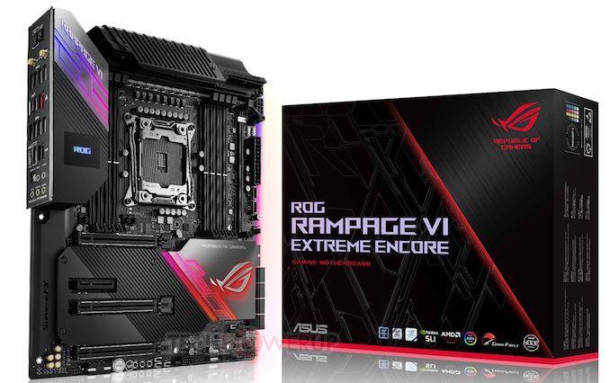 Asus ROG Rampage VI Extreme Encore EATX LGA2066 Motherboard