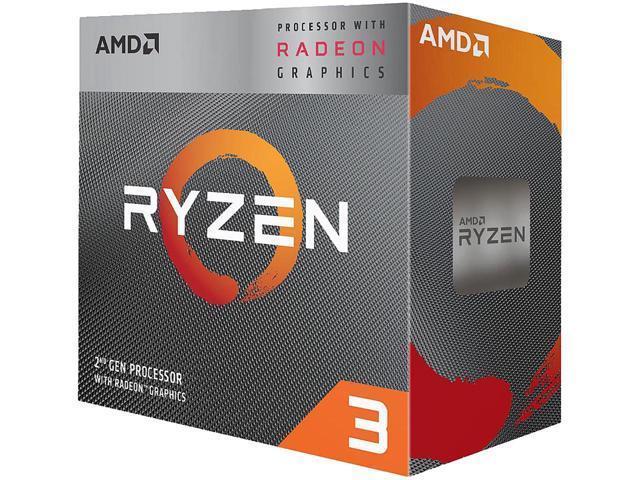 AMD Ryzen 3 3200G 3.6 GHz Quad-Core Processor