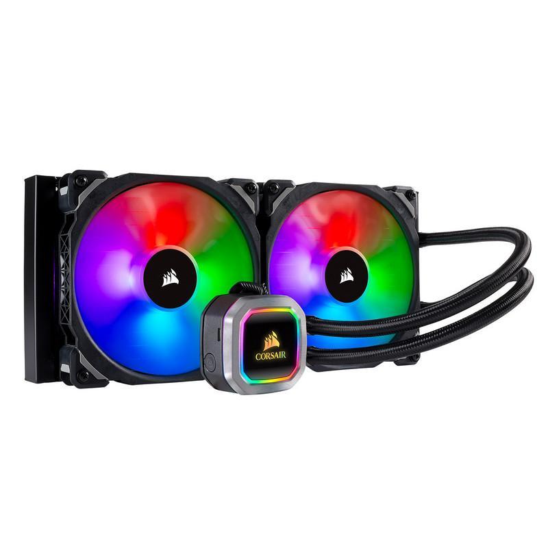 Corsair H115i RGB PLATINUM 97 CFM Liquid CPU Cooler