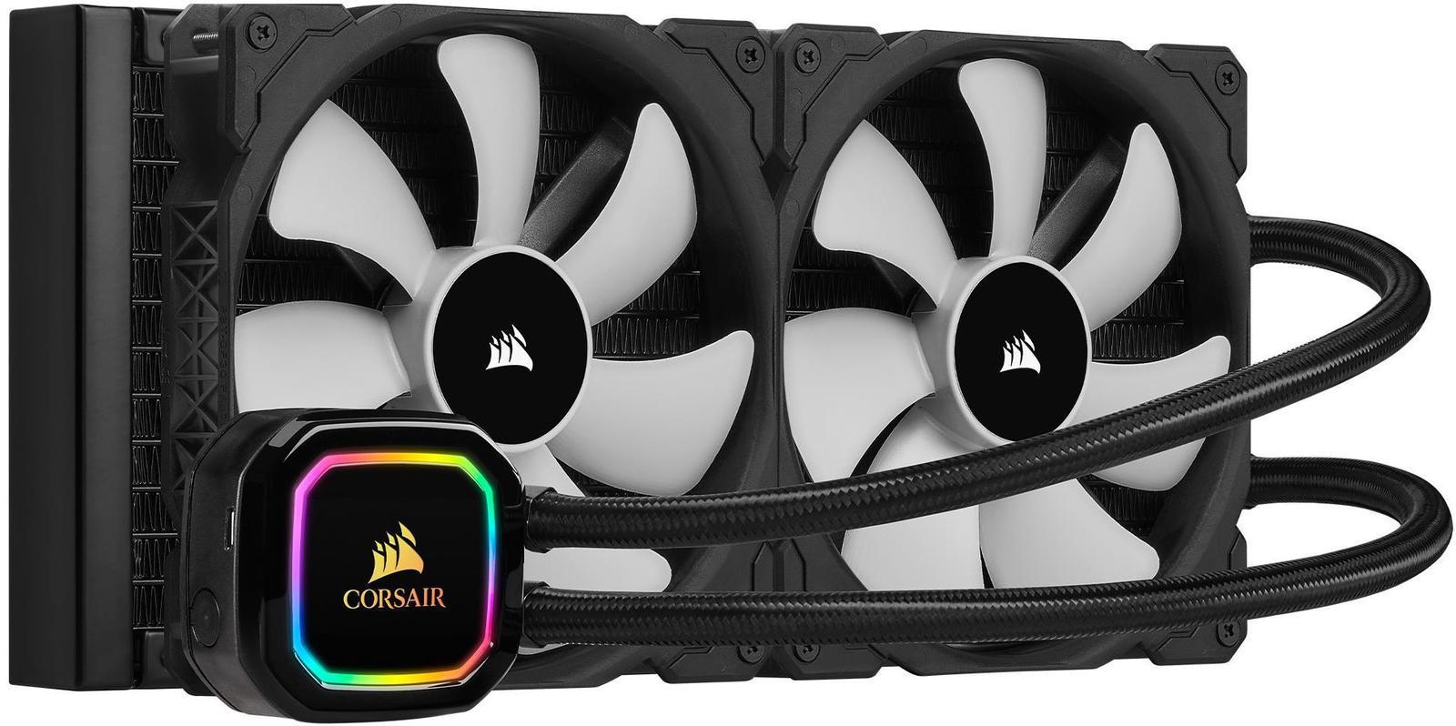 Corsair iCUE H115i RGB Pro XT 63 CFM Liquid CPU Cooler