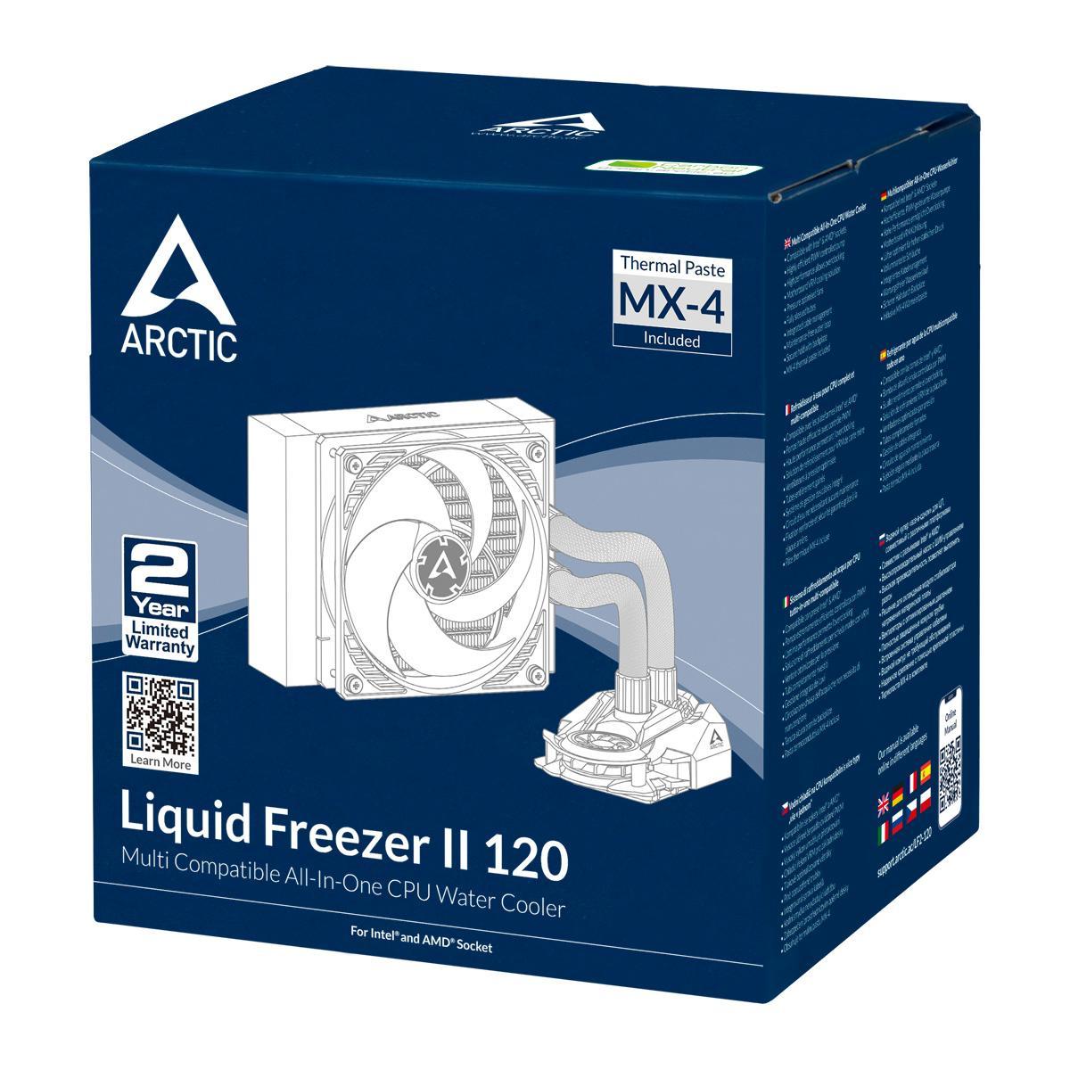 ARCTIC Liquid Freezer II 120 56.3 CFM Liquid CPU Cooler