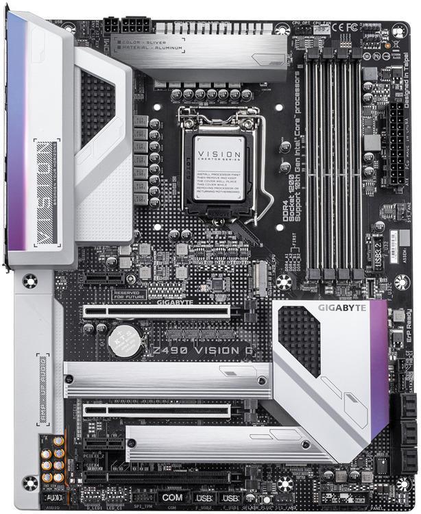 Gigabyte Z490 VISION G ATX LGA1200 Motherboard