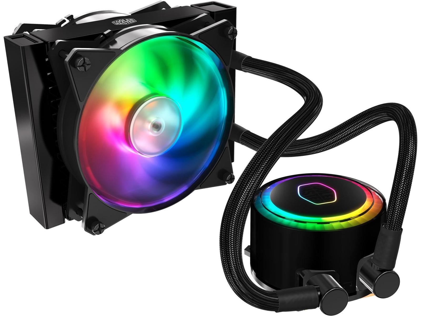 Cooler Master MasterLiquid ML120R RGB 66.7 CFM Liquid CPU Cooler
