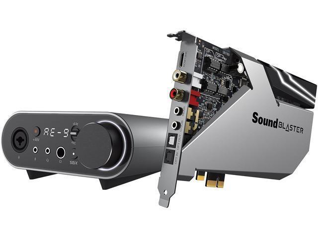 Creative Labs Sound Blaster AE-9 32-bit 384 kHz Sound Card