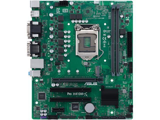 Asus Pro H410M-C/CSM Micro ATX LGA1200 Motherboard