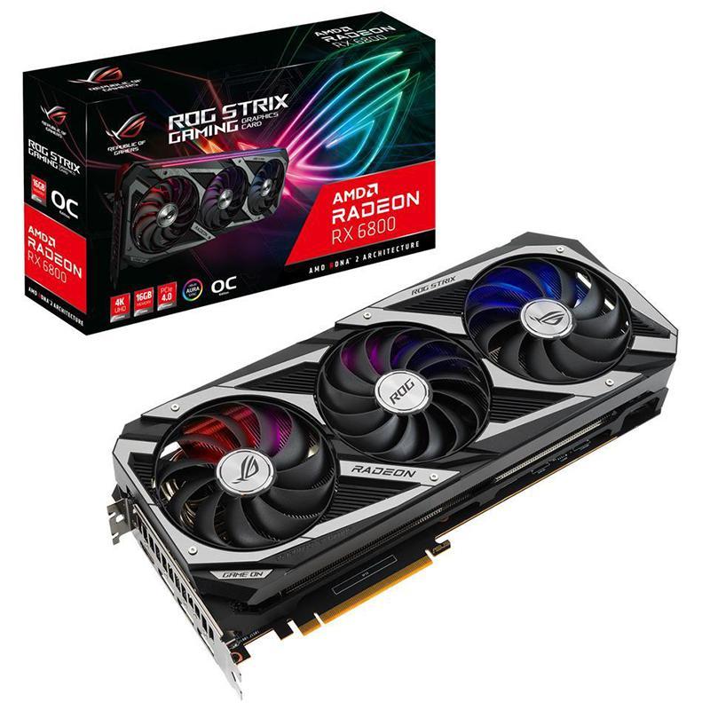 Asus Radeon RX 6800 16 GB STRIX GAMING OC Video Card