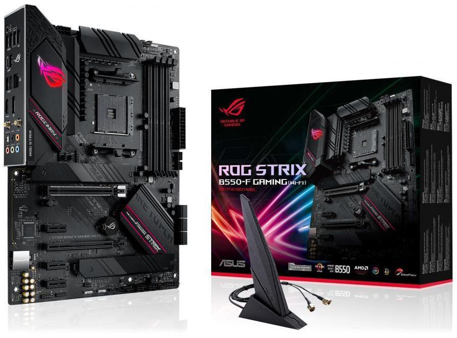 Asus ROG STRIX B550-F GAMING (WI-FI) ATX AM4 Motherboard