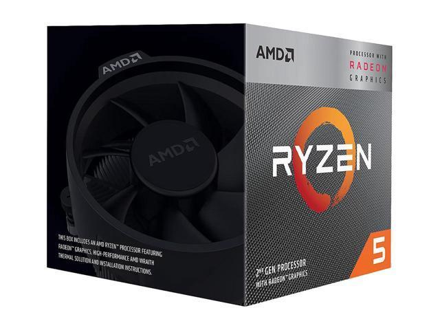 AMD Ryzen 5 3400G 3.7 GHz Quad-Core Processor