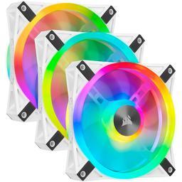 Corsair iCUE QL120 RGB 41.8 CFM 120 mm Fans 3-Pack