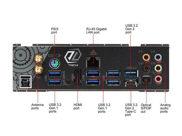 ASRock X570 Taichi ATX AM4 Motherboard