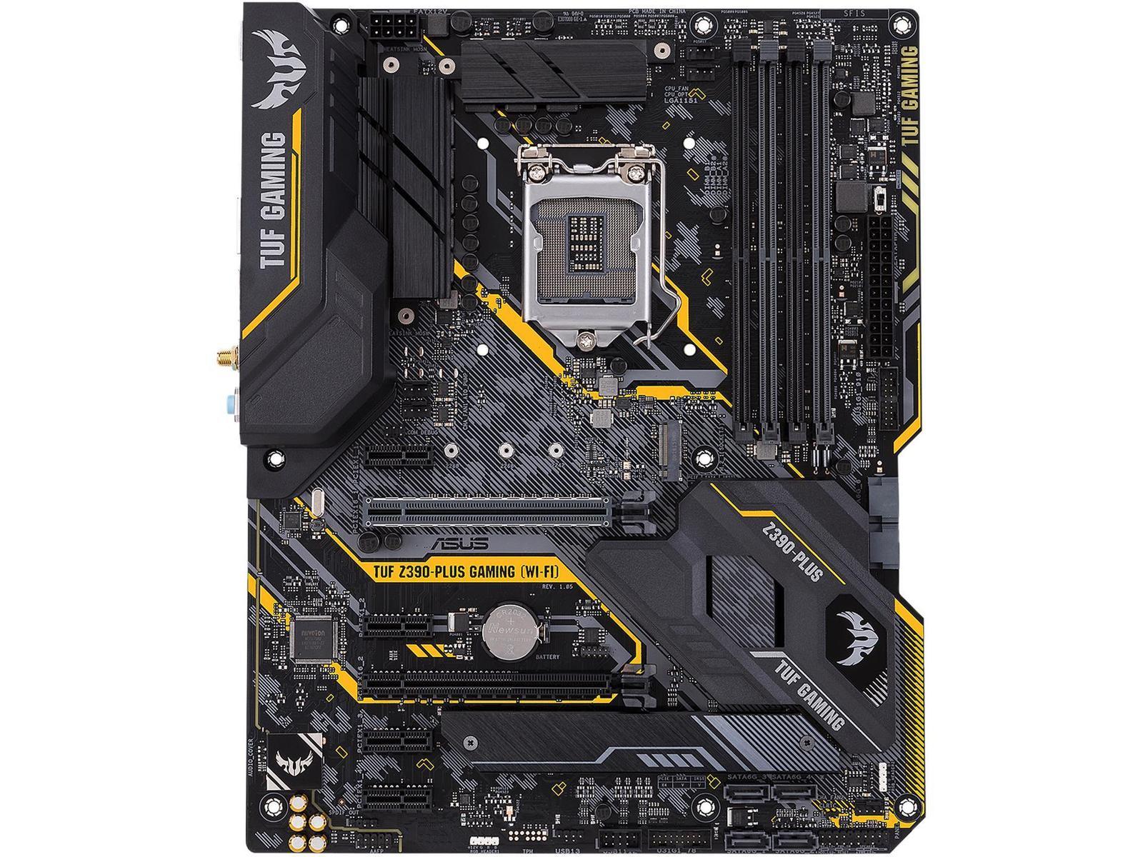 Asus TUF Z390-PLUS GAMING (WI-FI) ATX LGA1151 Motherboard