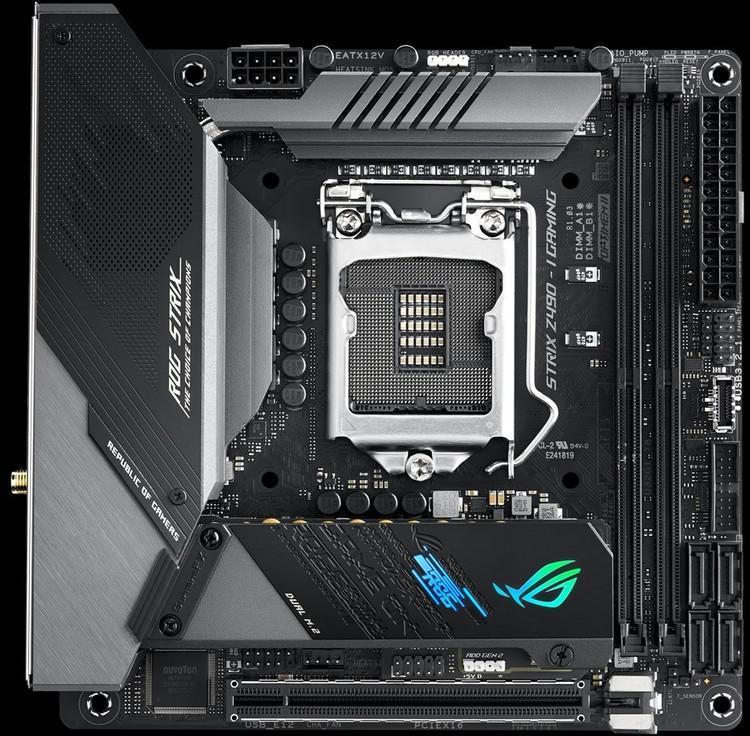 Asus ROG STRIX Z490-I GAMING Mini ITX LGA1200 Motherboard