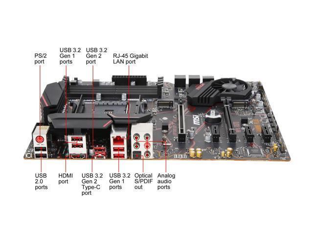 MSI MPG X570 GAMING PLUS ATX AM4 Motherboard