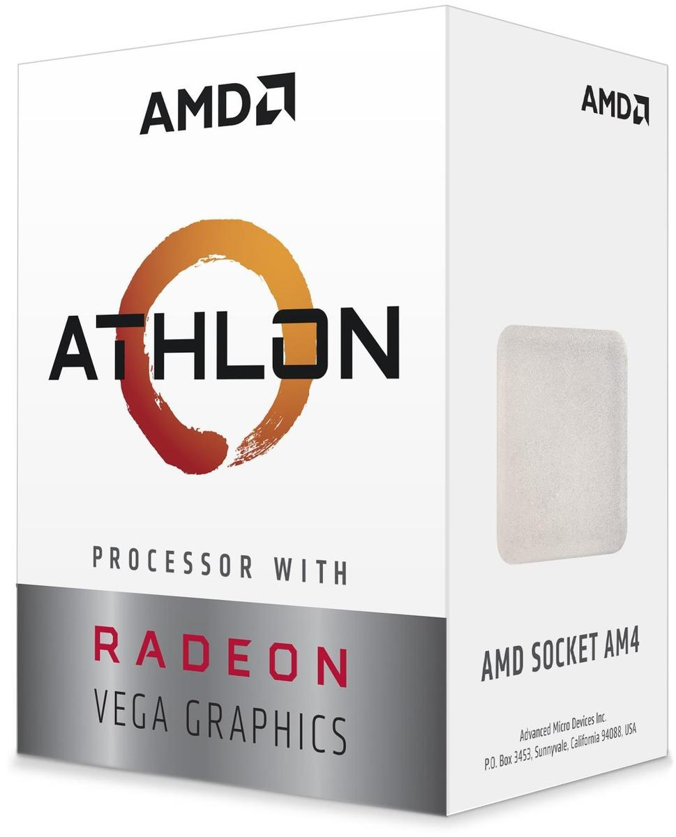 AMD Athlon 3000G 3.5 GHz Dual-Core Processor