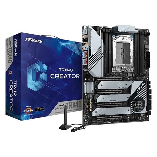 ASRock TRX40 Creator ATX sTRX4 Motherboard