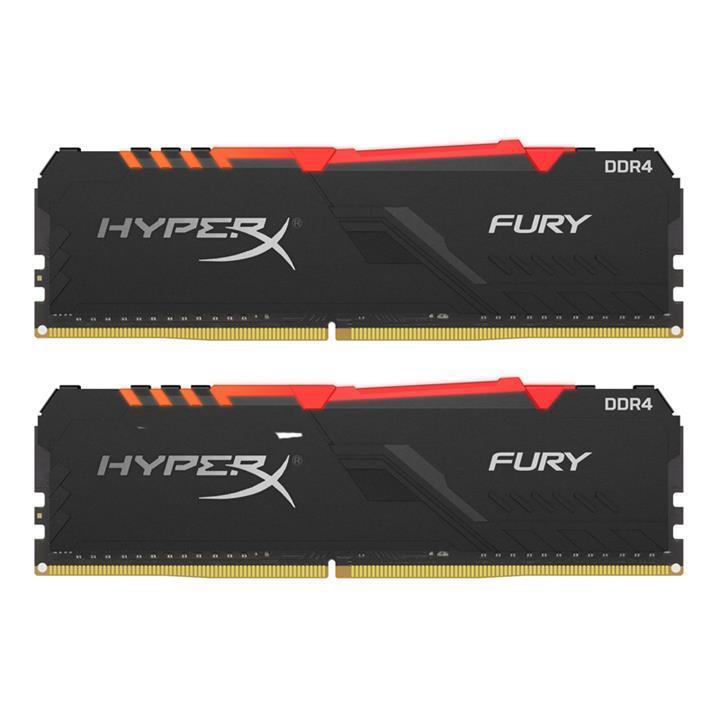 Kingston HyperX Fury RGB 16 GB (2 x 8 GB) DDR4-2666 CL16 Memory