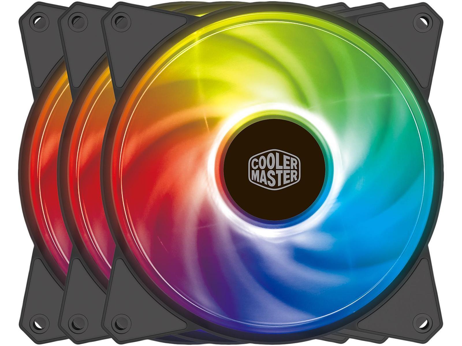 Cooler Master MasterFan MF120R 59 CFM 120 mm Fans 3-Pack