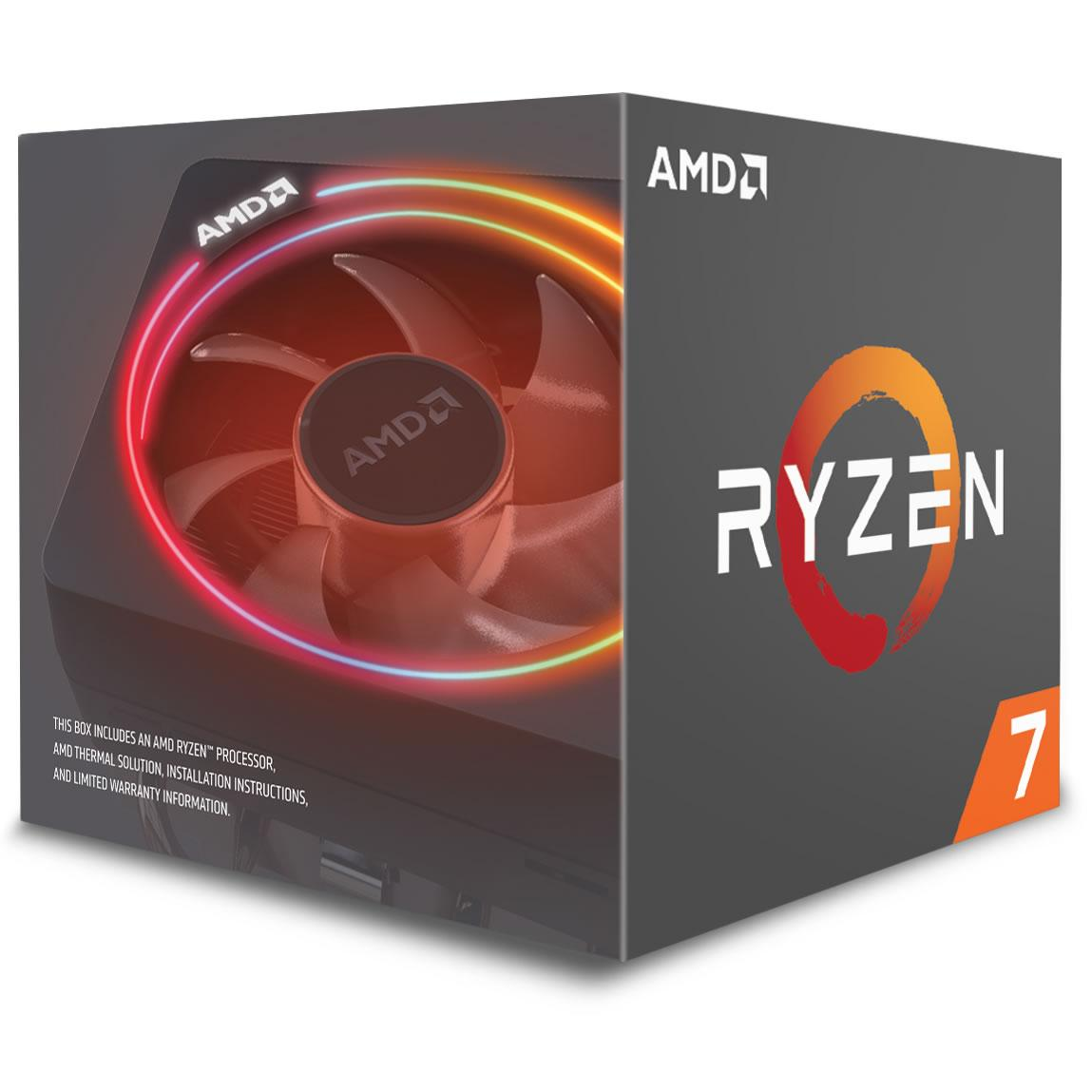 AMD Ryzen 7 2700X 3.7 GHz 8-Core Processor