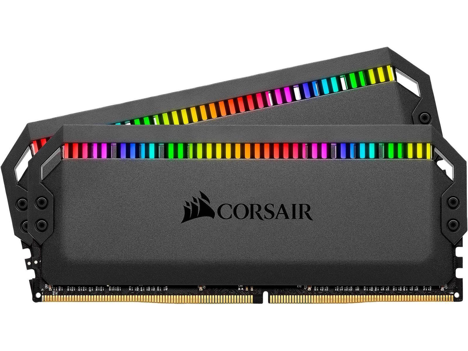 Corsair Dominator Platinum RGB 16 GB (2 x 8 GB) DDR4-3200 CL16 Memory