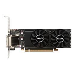 MSI GeForce GTX 1050 Ti 4 GB Video Card