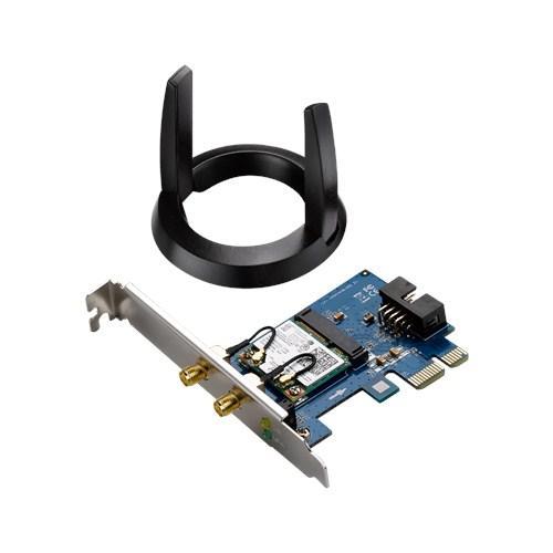 Asus PCE-AC55BT PCIe x1 802.11a/b/g/n/ac Wi-Fi Adapter