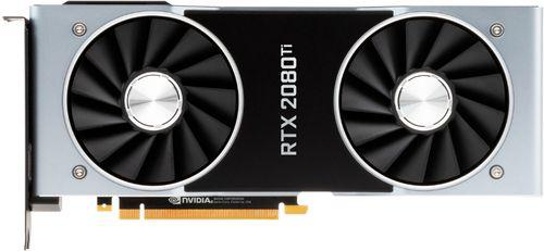 NVIDIA GeForce RTX 2080 Ti 11 GB Founders Edition Video Card