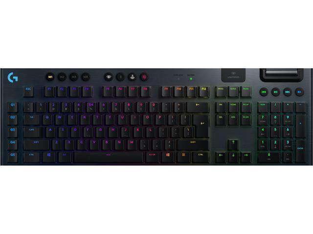 Logitech G915 Lightspeed RGB Wireless Gaming Keyboard