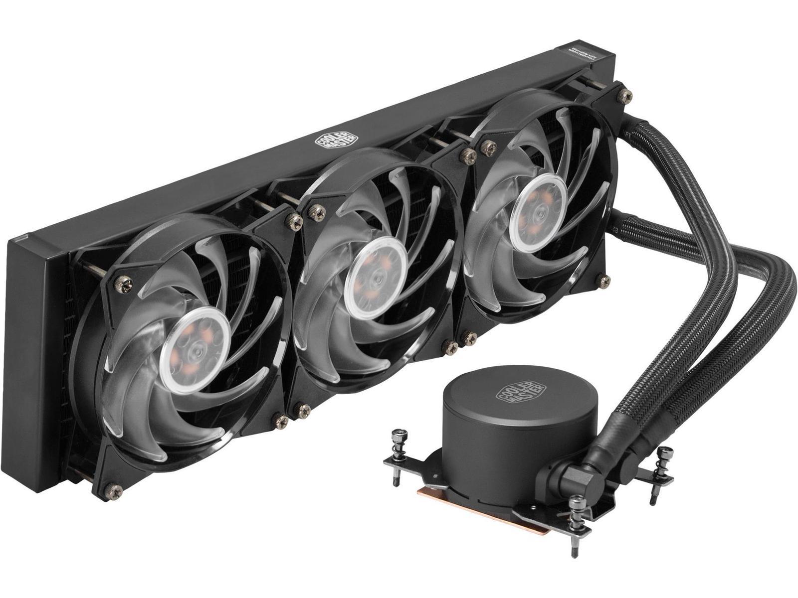 Cooler Master MasterLiquid ML360 RGB TR4 Edition 66.7 CFM Liquid CPU Cooler