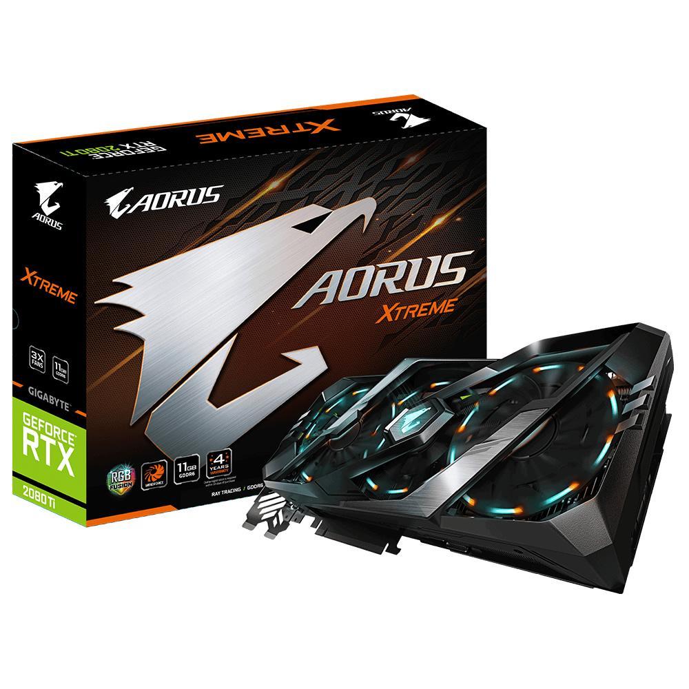 Gigabyte GeForce RTX 2080 Ti 11 GB AORUS XTREME Video Card