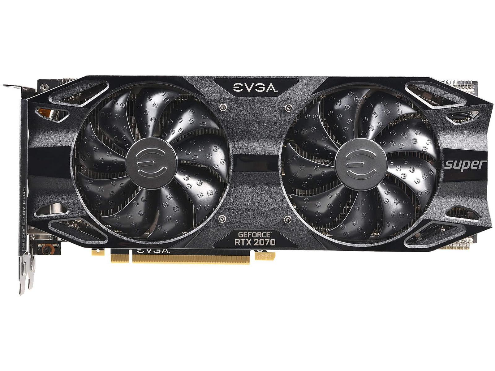 EVGA GeForce RTX 2070 SUPER 8 GB BLACK GAMING Video Card