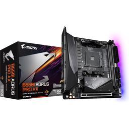 Gigabyte B550I AORUS PRO AX Mini ITX AM4 Motherboard