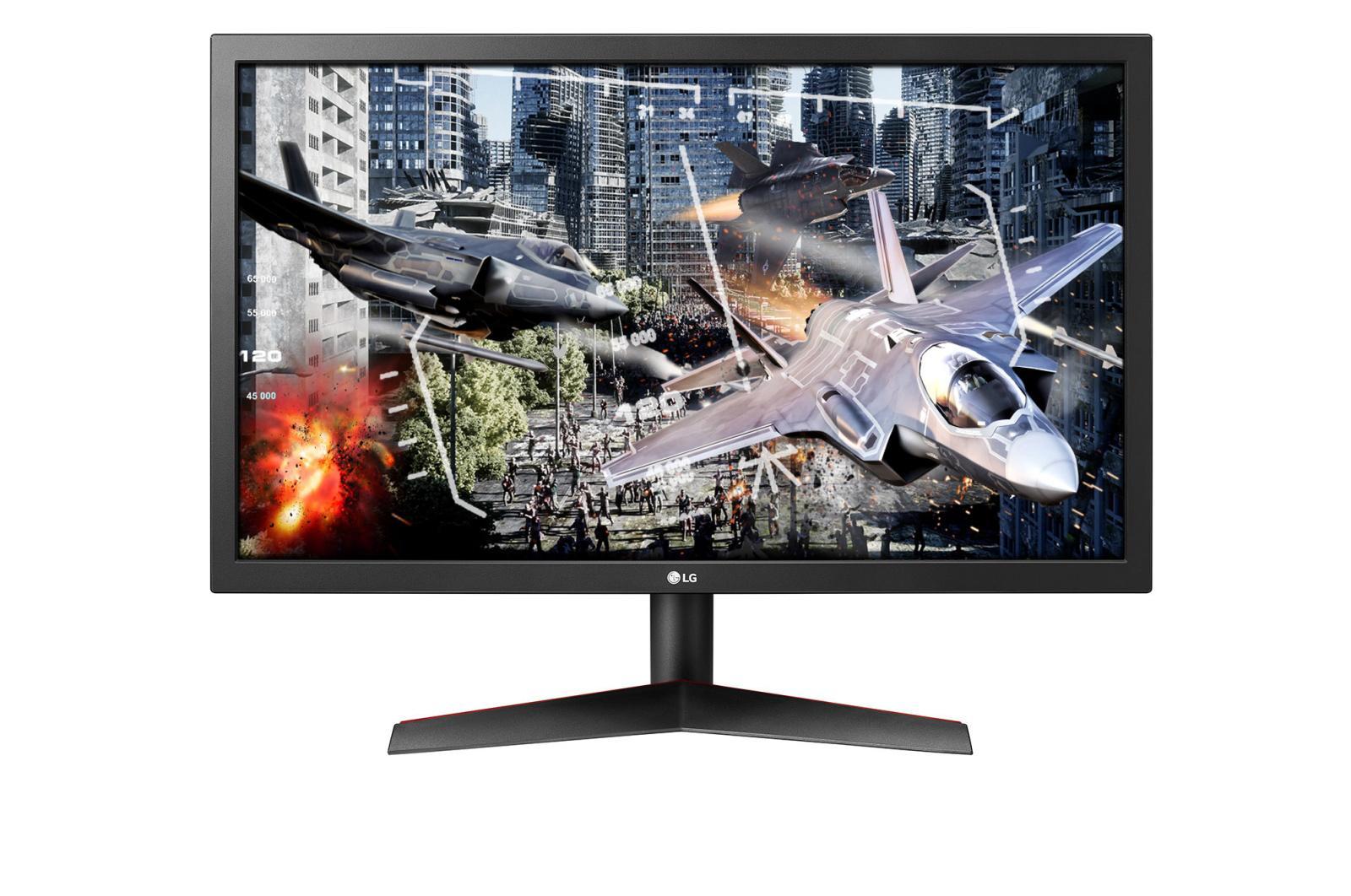 """LG 24GL600F-B 23.6"""" 1920x1080 144 Hz Monitor"""