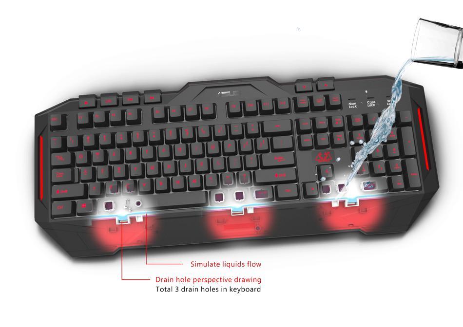 Asus Cerberus Wired Gaming Keyboard
