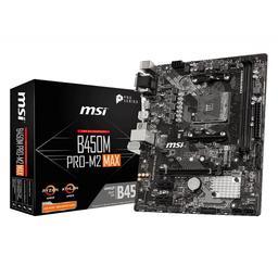 MSI B450M PRO-M2 MAX Micro ATX AM4 Motherboard